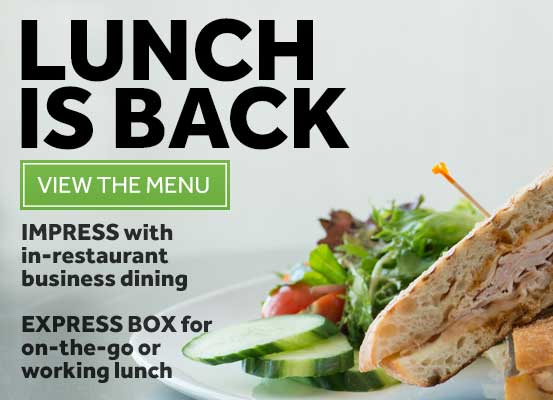 Express Box or In-Restaurant Lunch at Vivo