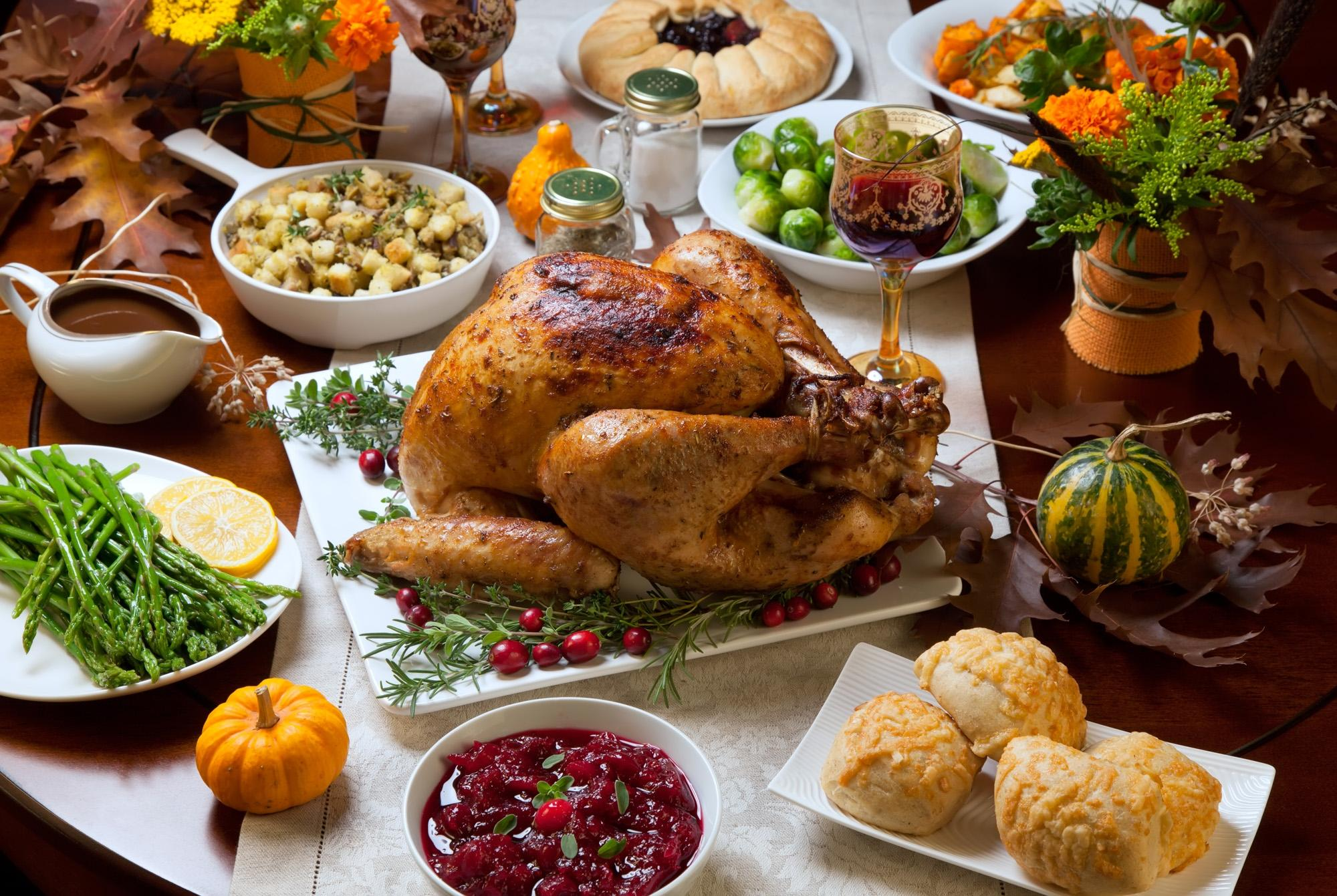 Special Thanksgiving Menu 2018