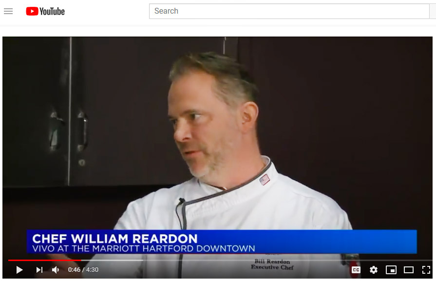 Vivo Chef Bill Reardon Appears on FOX 61