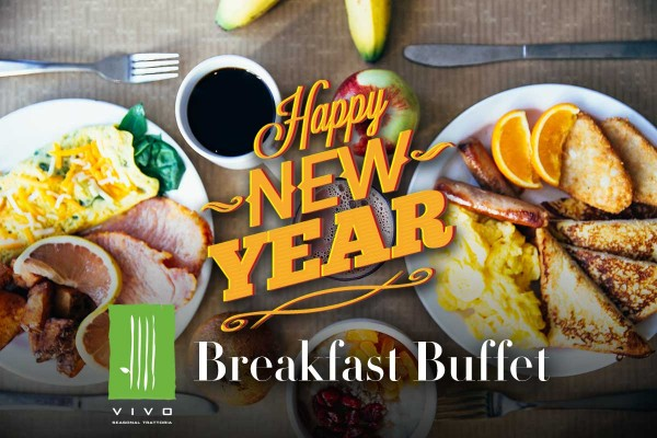 New Year's Day 2020 Breakfast Buffet